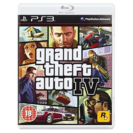 GTA 4 jeu ps3