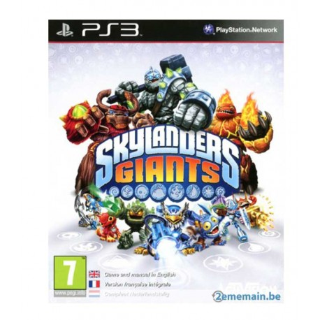 Skylanders Giants Jeu Ps3
