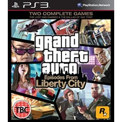Liberty city grand theft auto Jeu Ps3