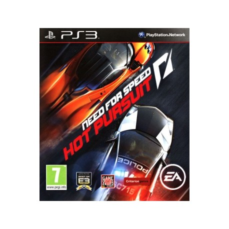 Need for Speed Hot Pursuit Jeu Ps3