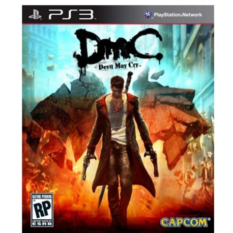 DmC Devil May Cry Jeu Ps3