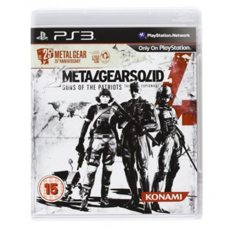 Metal Gear Solid 4 Jeu Ps3