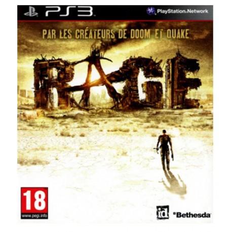 Rage Jeu Ps3