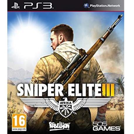 Sniper Elite 3 Jeu Ps3