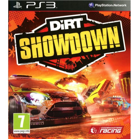 DiRT Showdown Jeu Ps3
