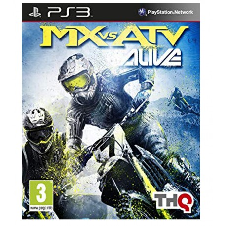 MX vs ATV Alive jeu ps3