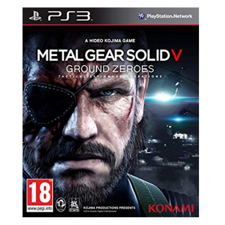 Metal Gear Solid 5 Jeu Ps3
