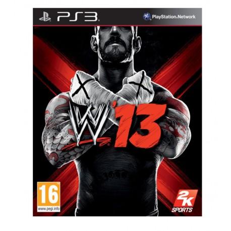 WWE'13 jeu pour ps3