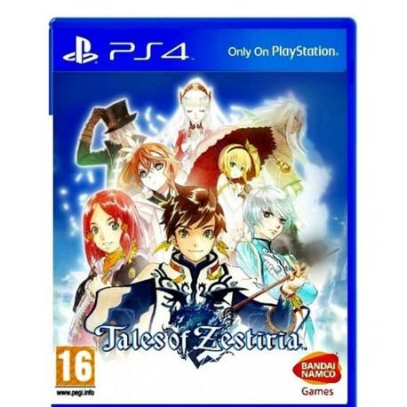Tales of Zestiria jeux ps4