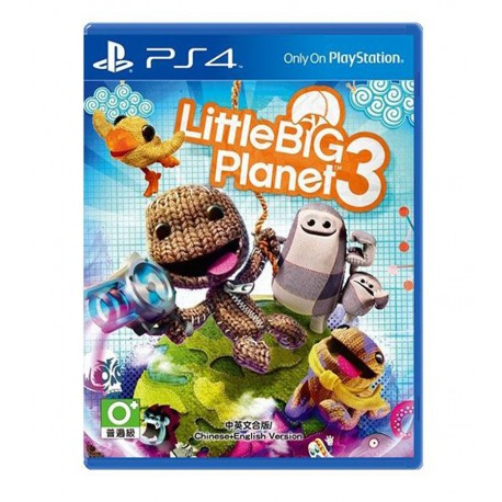 Little Big Planet 3 jeux ps4