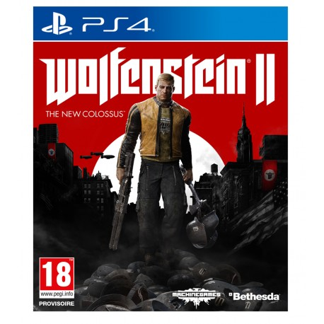 Wolfenstein II:The New Colossus jeux ps4