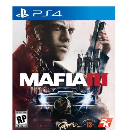Mafia 3 jeux ps4