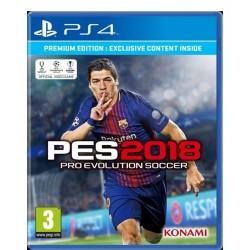 Pro Evolution Soccer 2018 jeux ps4