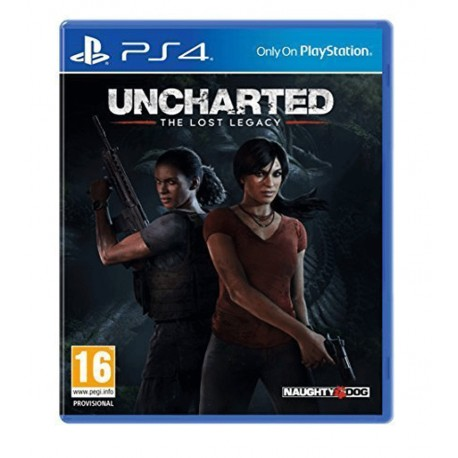 Uncharted: The Lost Legacy jeux ps4