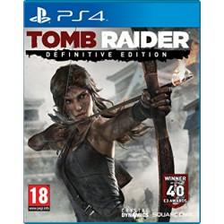 Tomb Raider jeux ps4