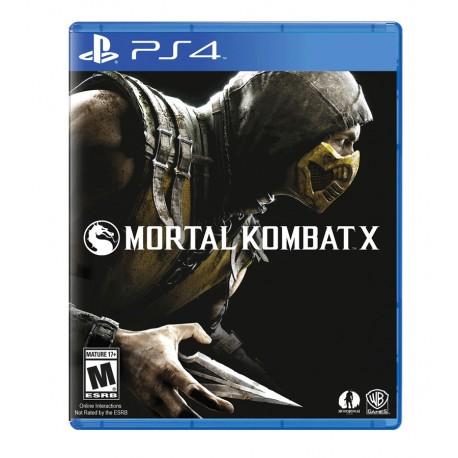 Mortal Kombat X jeux ps4