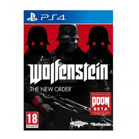 Wolfenstein The New Order jeux ps4