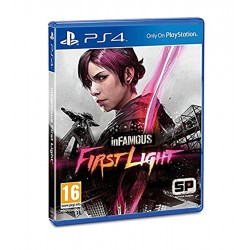 InFAMOUS First Light jeux ps4