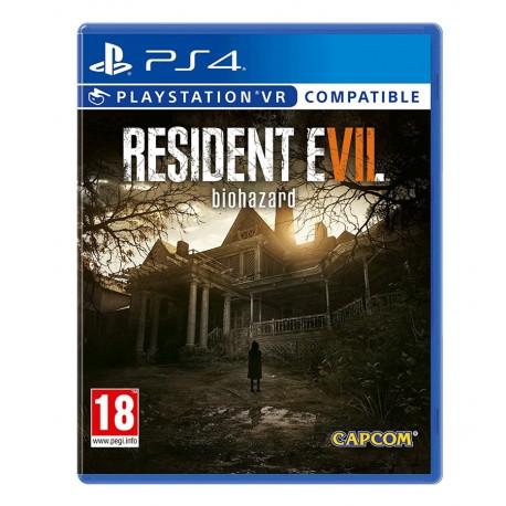 Resident Evil 7 Biohazard jeux ps4