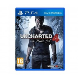 Uncharted 4 jeu ps4