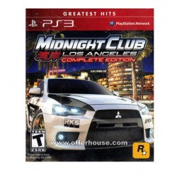 Midnight club los angeles Jeu Ps3