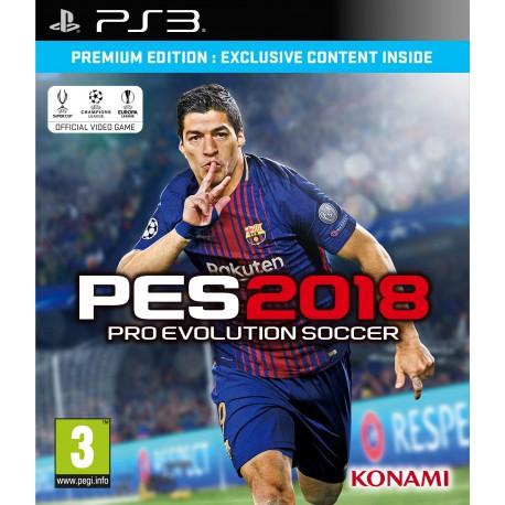 Pro Evolution Soccer 2018 jeu ps3