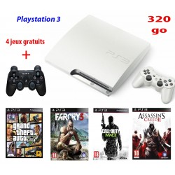 Console de jeu Playstation 3 Blanc 320Go