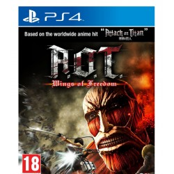 Attack on Titan : Wings of Freedom jeux ps4