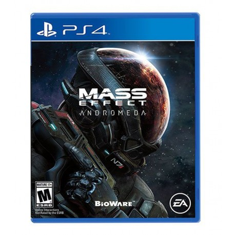 Mass Effect Andromeda jeux ps4