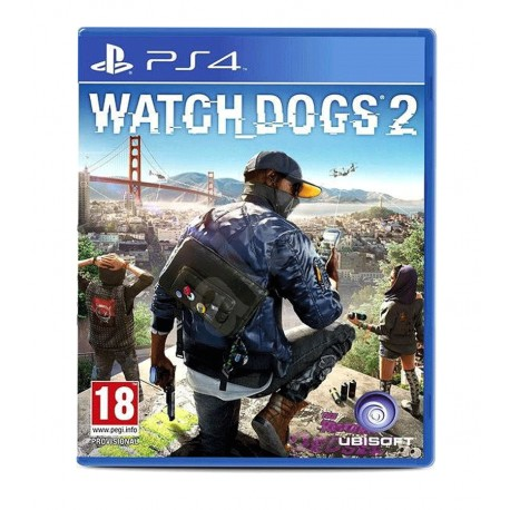 Watch Dogs 2 jeux ps4