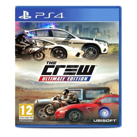 The Crew ultimate edition jeux ps4