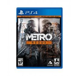 metro REDUX jeux ps4